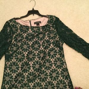 Jessica Howard Dress Sz 16 occasion green lace